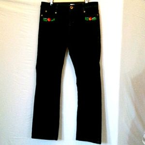 Customized, Embroidered, DKNY Jeans